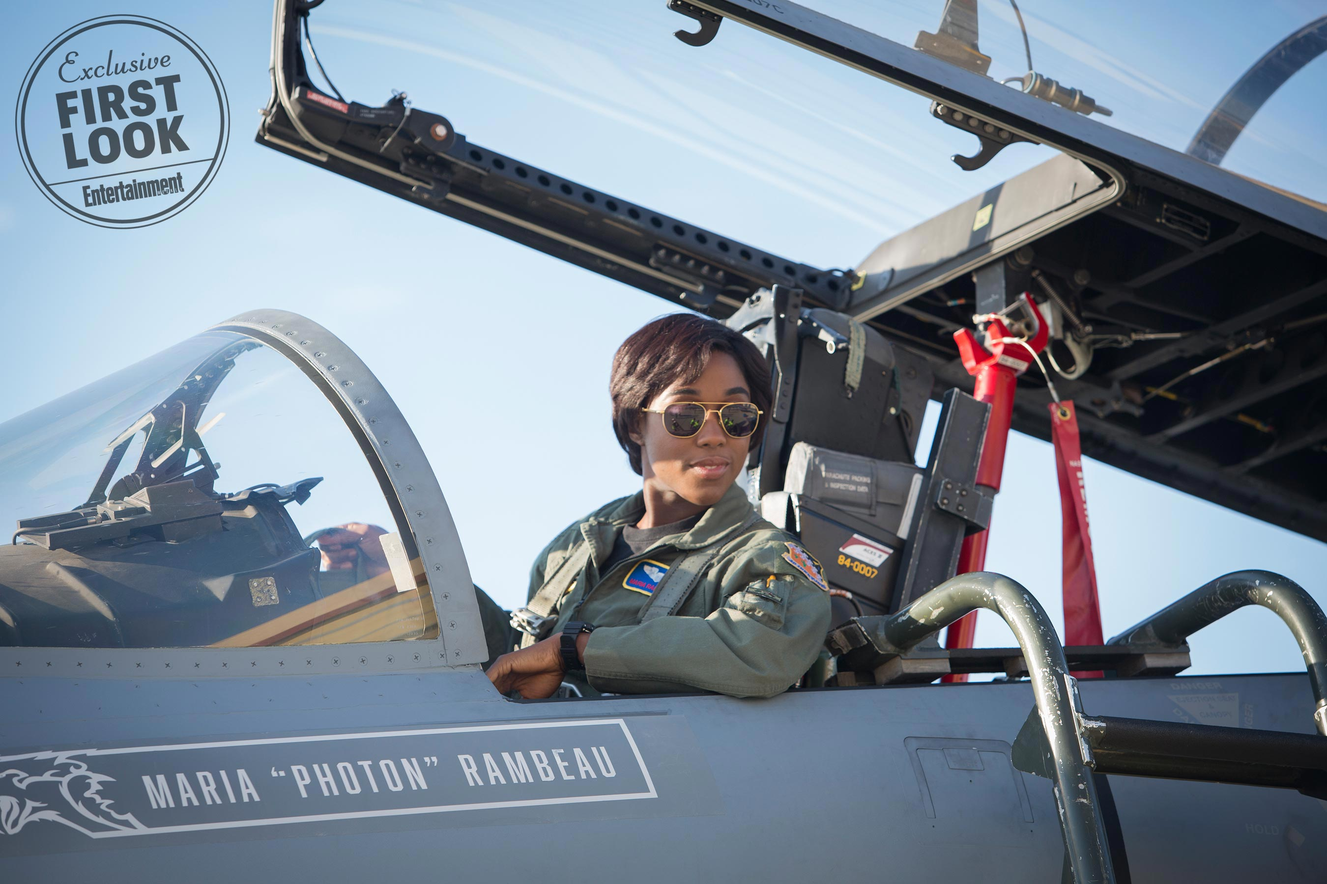 "Lashana Lynch as Maria ""Photon"" Rambeau Marvel Studios' CAPTAIN MARVELMaria Rambeau (Lashana Lynch)"