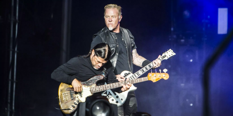 Metallica's San Francisco benefit show was apparently so