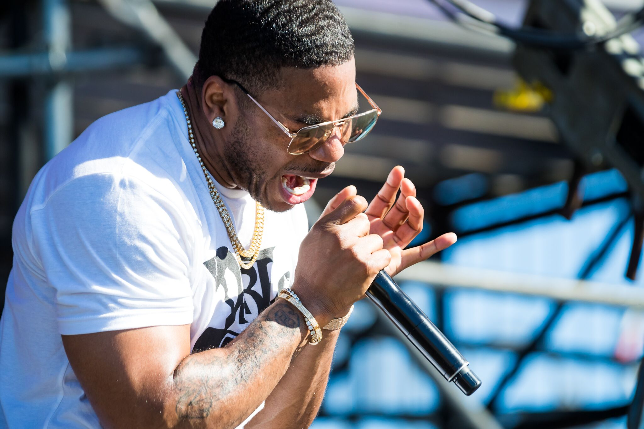 Nelly, photo by Alive Coverage