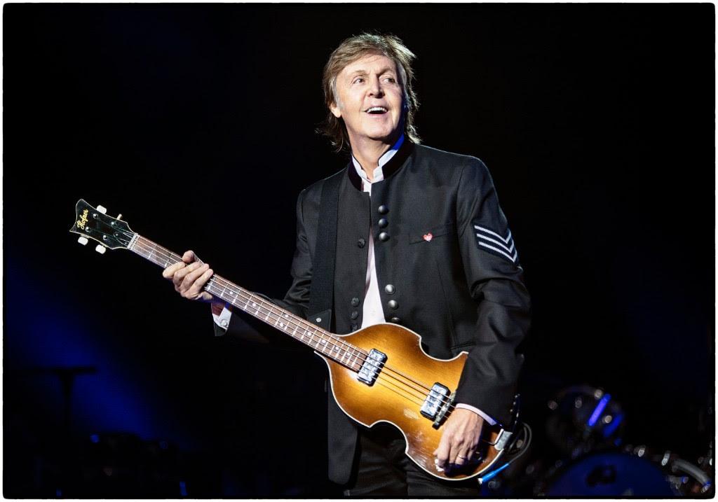 Paul McCartney, photo by MJ Kim