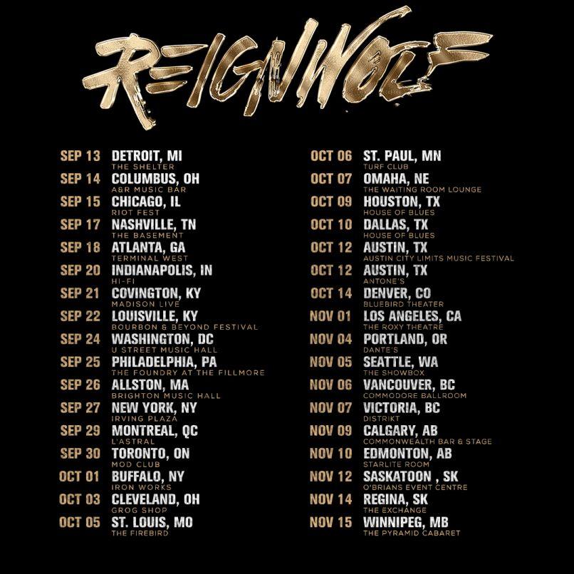 reignwolf tour dates 2018