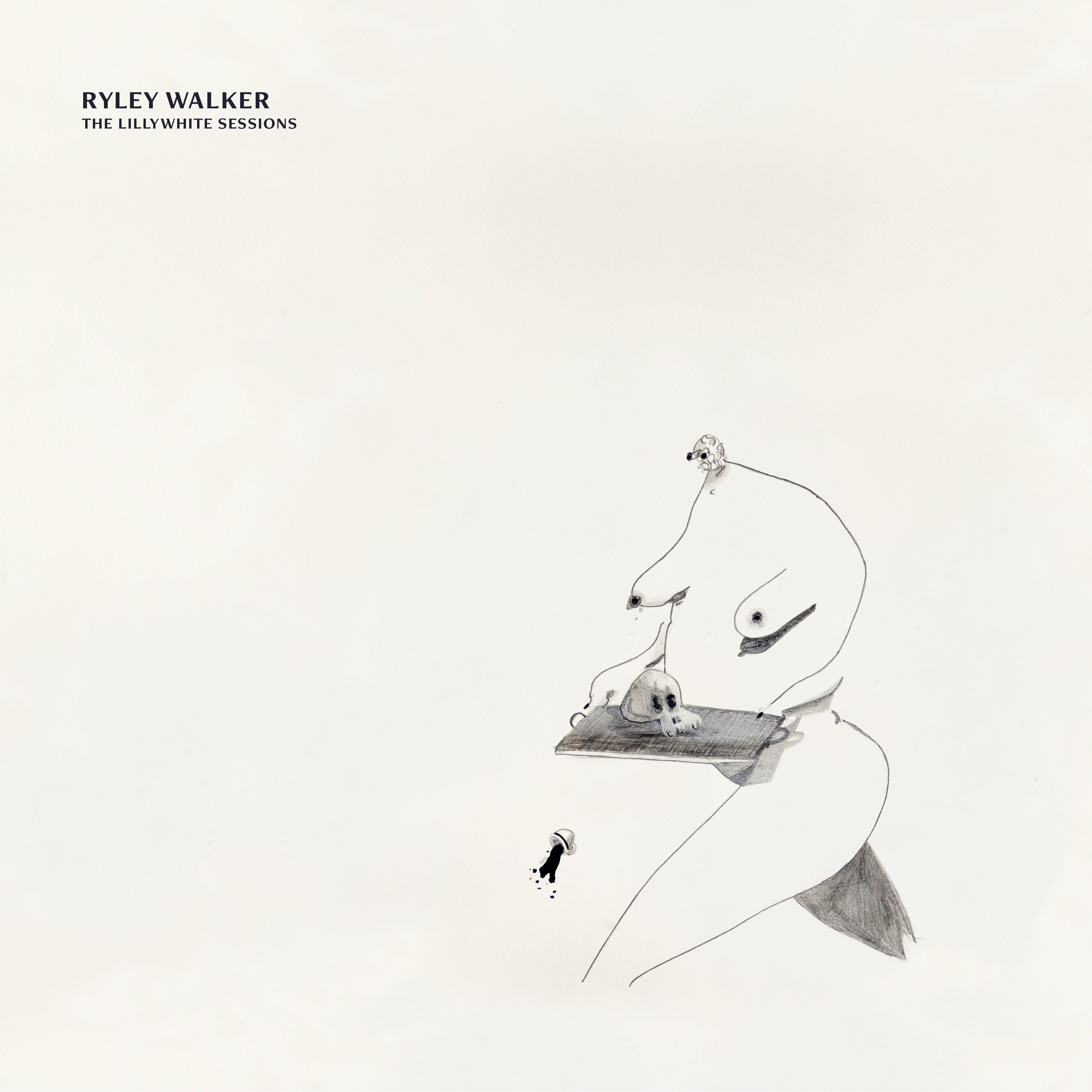 Ryley Walker The Lillywhite Sessions Album Cover Art Artwork Dave Matthews Band
