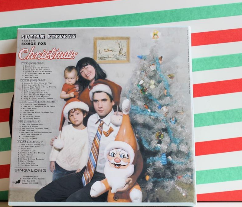 screen shot 2018 09 14 at 3 15 47 pm Sufjan Stevens to reissue Songs for Christmas on vinyl for the first time
