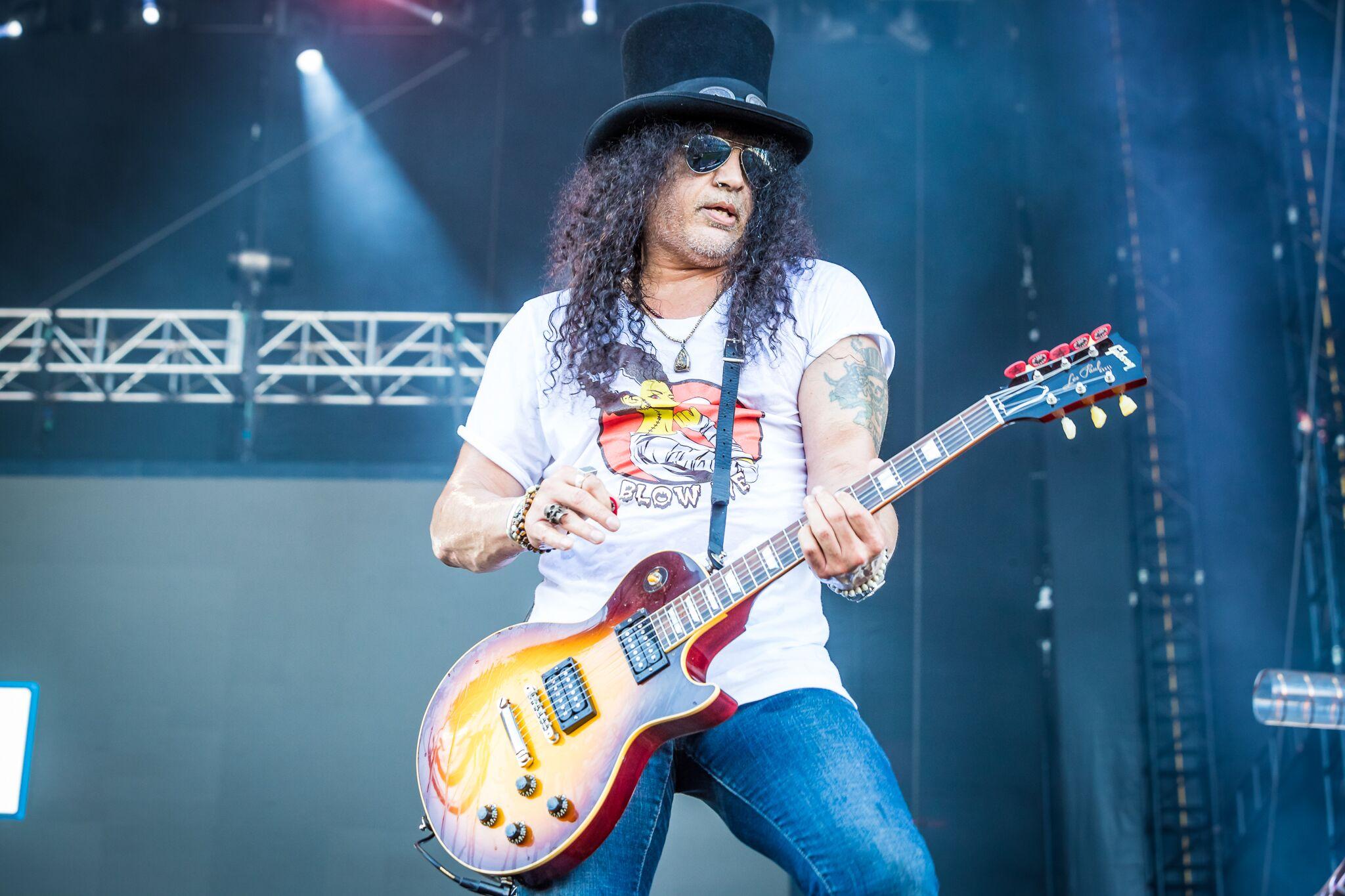 Slash, photo by Alive Coverage