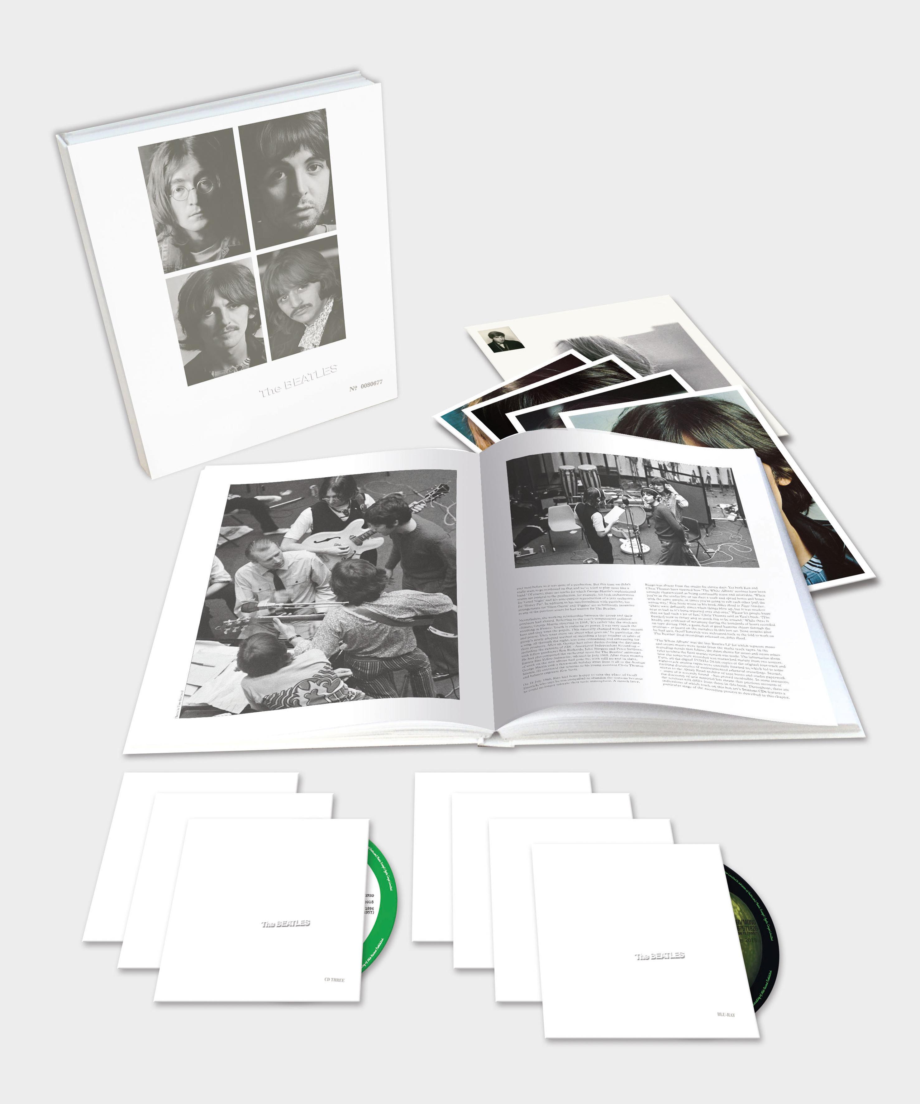 The Beatles White Album deluxe
