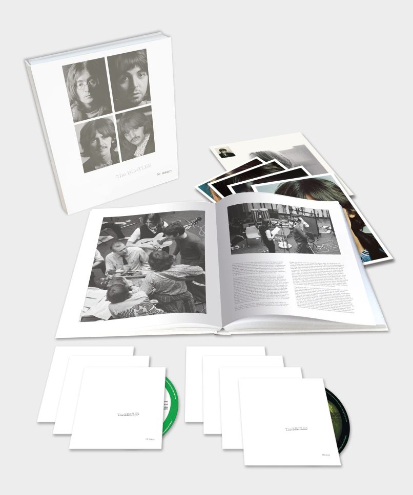The Beatles White Album deluxe