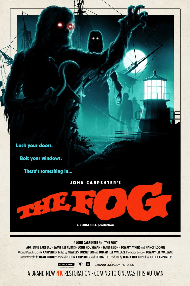 the fog 4k restoration artwork