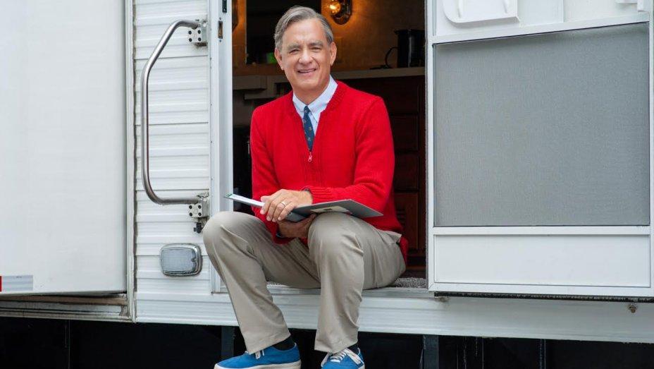 Tom Hanks as Mr Rogers