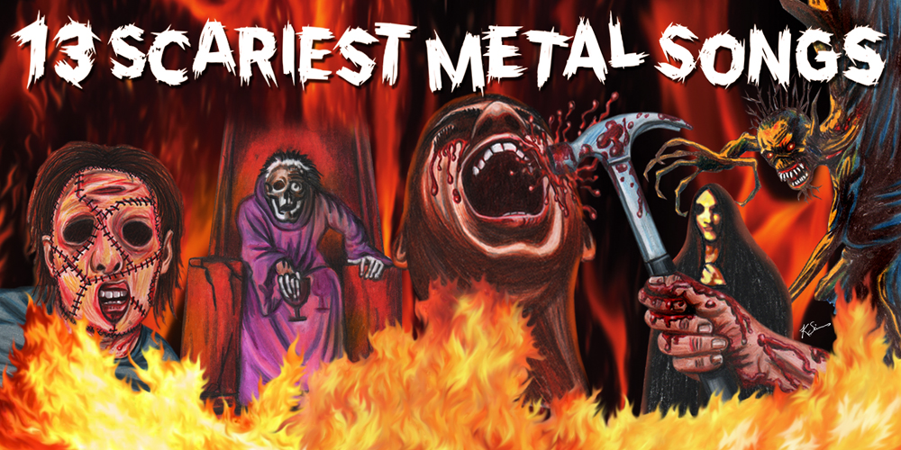 The 13 Scariest Metal Songs Consequence Of Sound