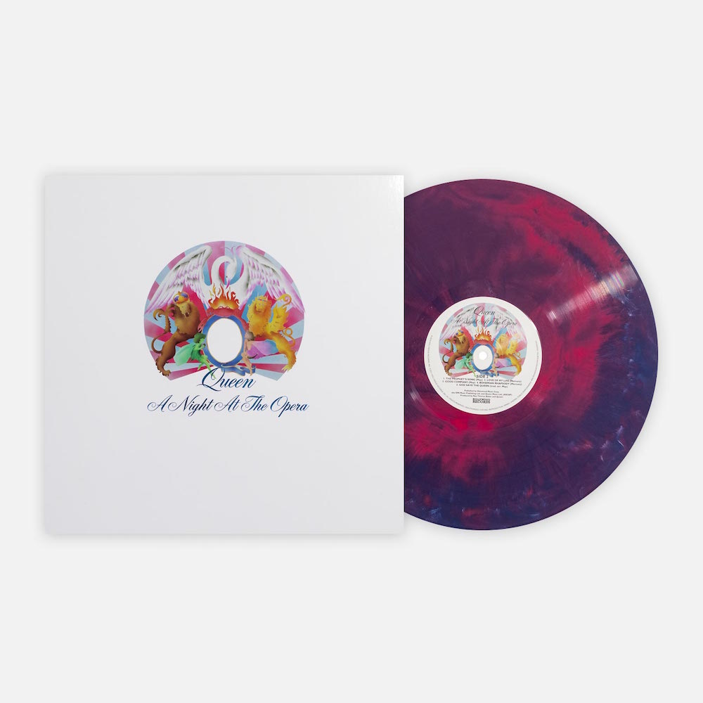 a night at the opera vinyl store Queens A Night At The Opera receives deluxe vinyl reissue
