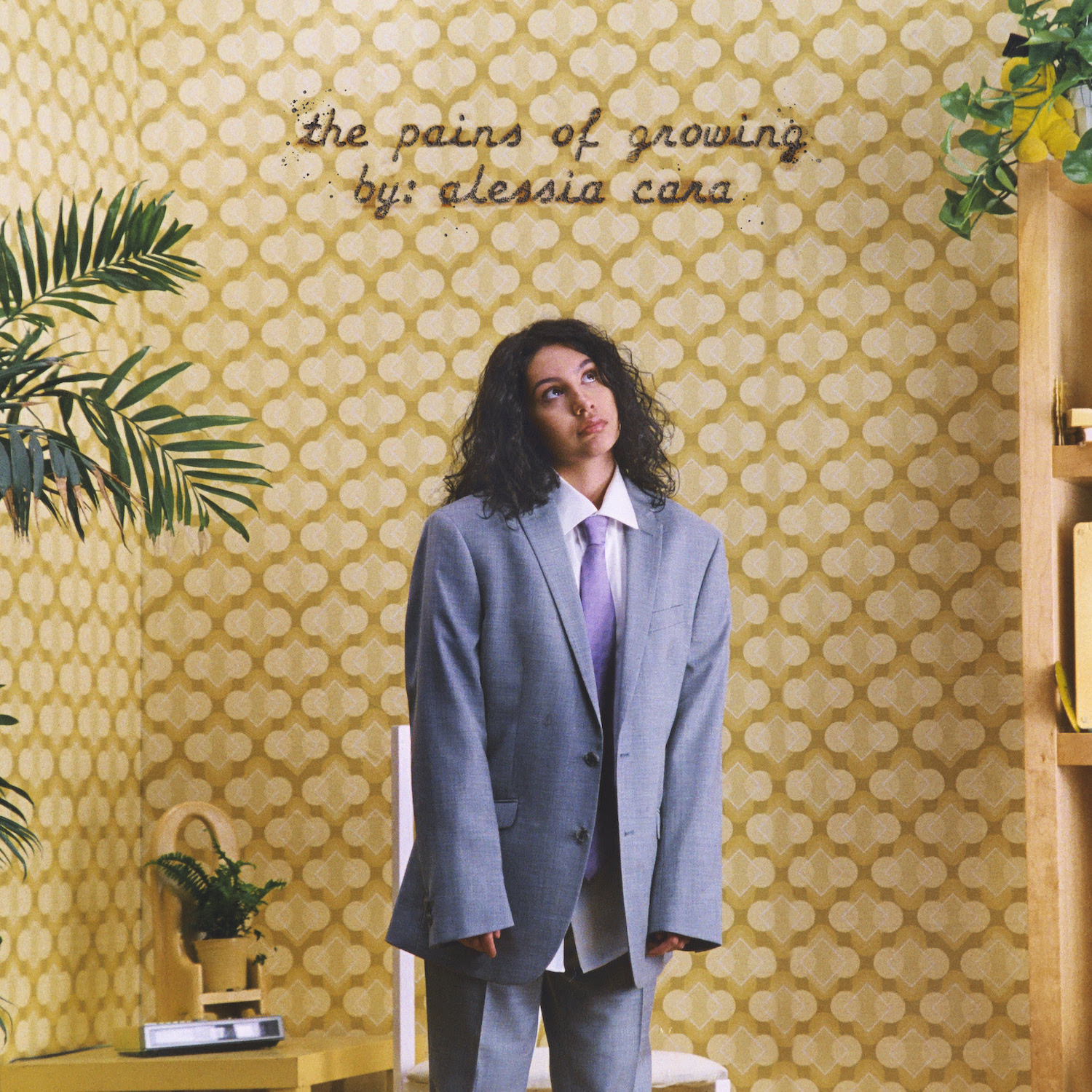 Alessia Cara the pains of growing album cover artwork tracklist