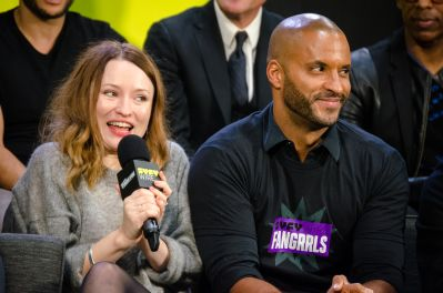 American Gods Ricky Whittle Emily Browning New York Comic Con 2018 Ben Kaye-2