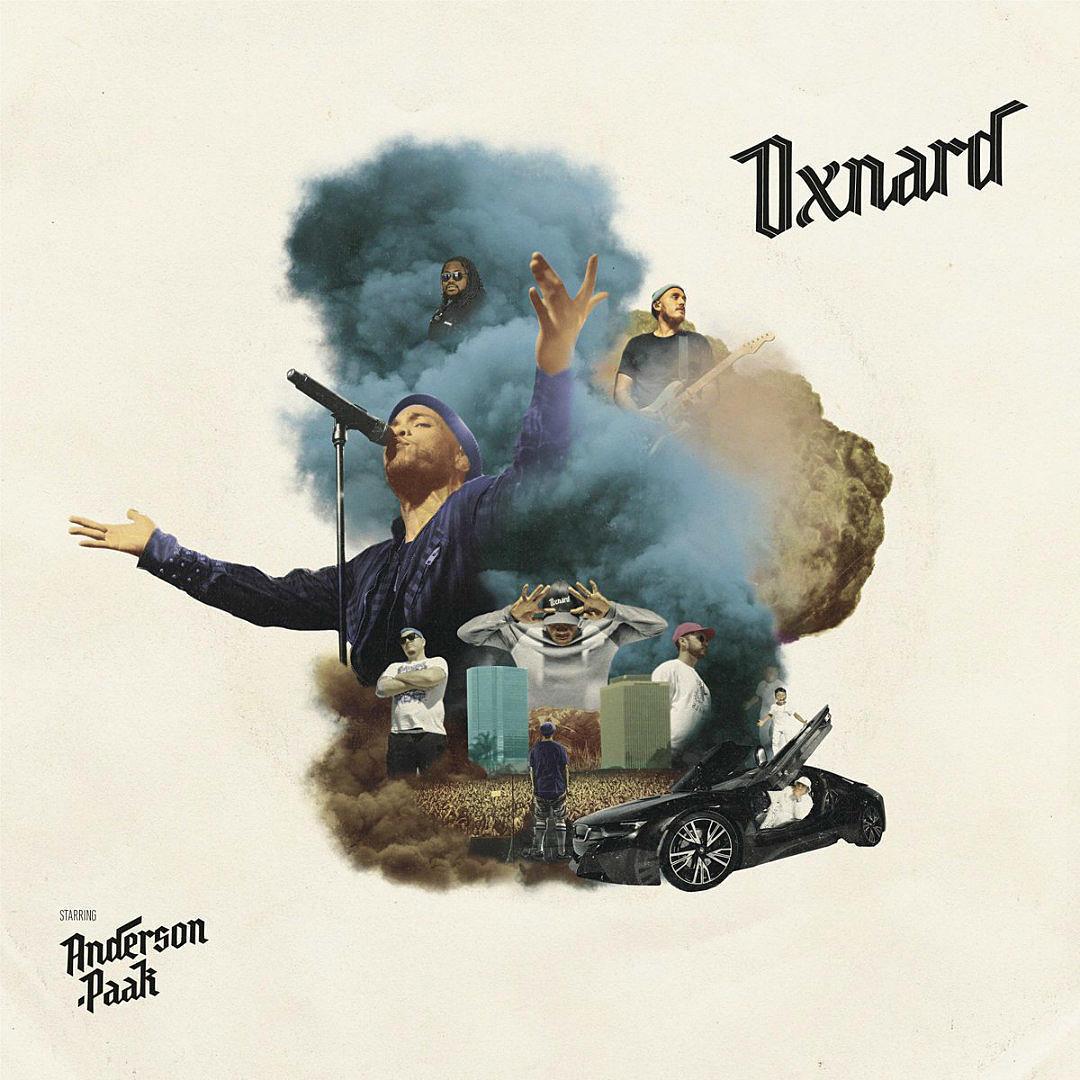 Anderson-Paak-Oxnard album cover artwork