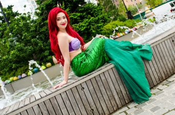 Ariel The Little Mermaid New York Comic Con 2018 Ben Kaye-144