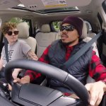 Video Chance the Rapper Lyft undercover driver