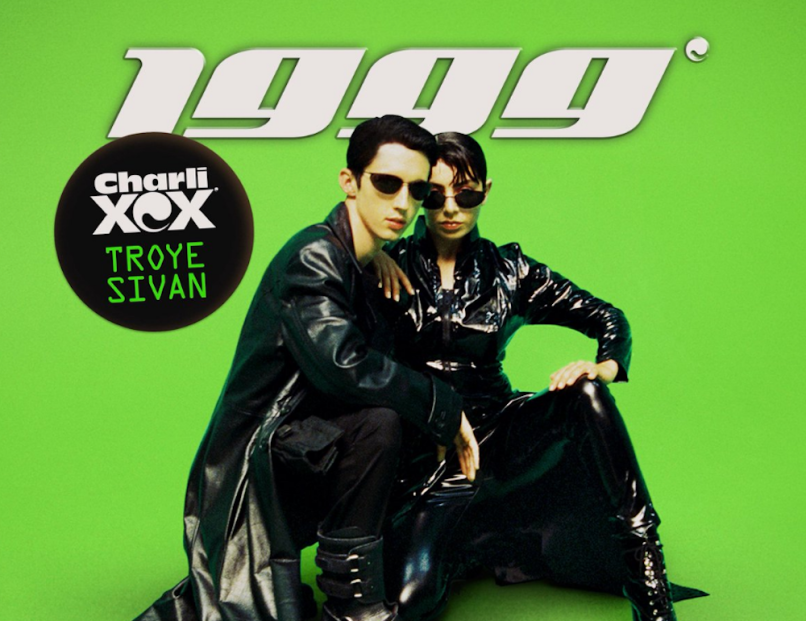 "Stream Troye Sivan and Charli XCX ""1999"" new song"