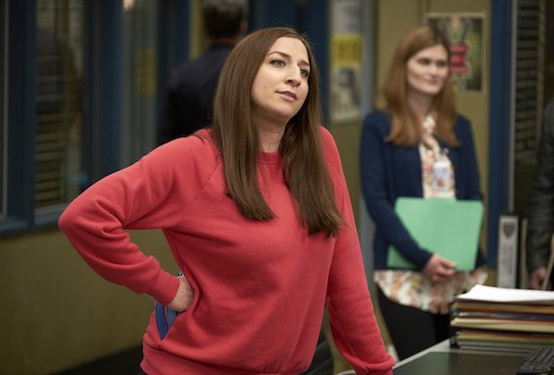 brooklyn nine nine chelsea peretti leaving