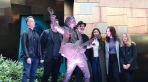Chris Cornell's statue unveiling in Seattle