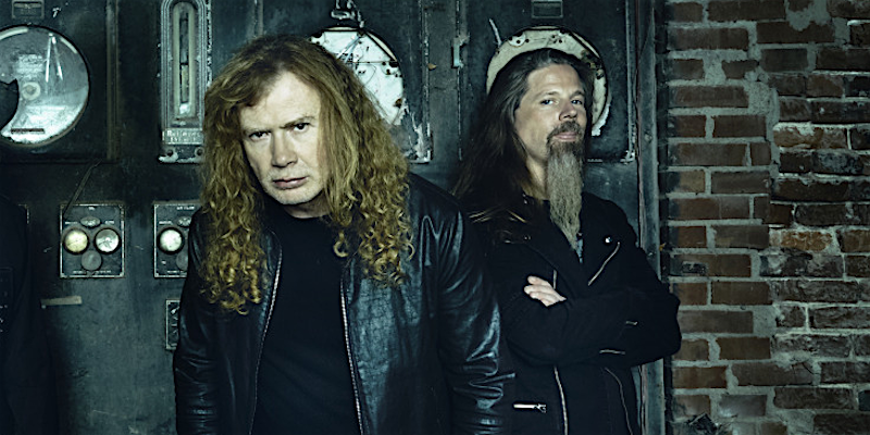 Dave Mustaine and Chris Adler