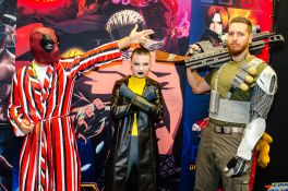 Deadpool Negasonic Teenage Warhead Cable New York Comic Con 2018 Ben Kaye-23