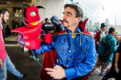 Dr. Strange puppet Dormammu New York Comic Con 2018 Ben Kaye-136
