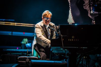 Elton John, Chicago, photo by Lior Phillips
