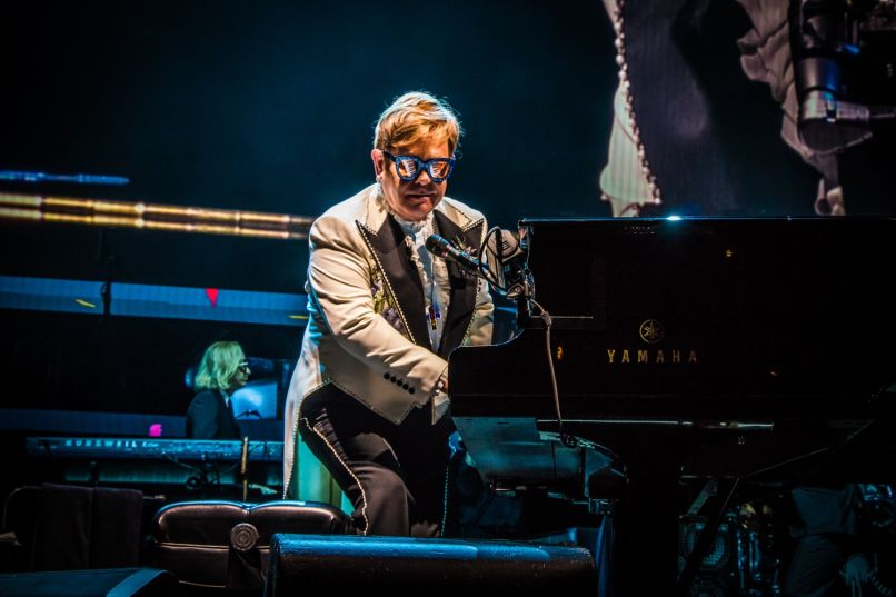 elton john 52 lior phillips Top Live Acts of 2018