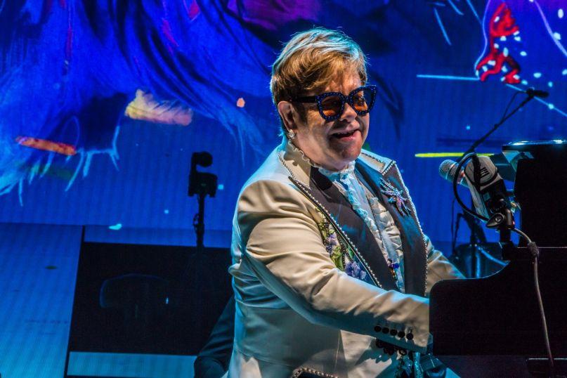 Elton John, photo by Lior Phillips