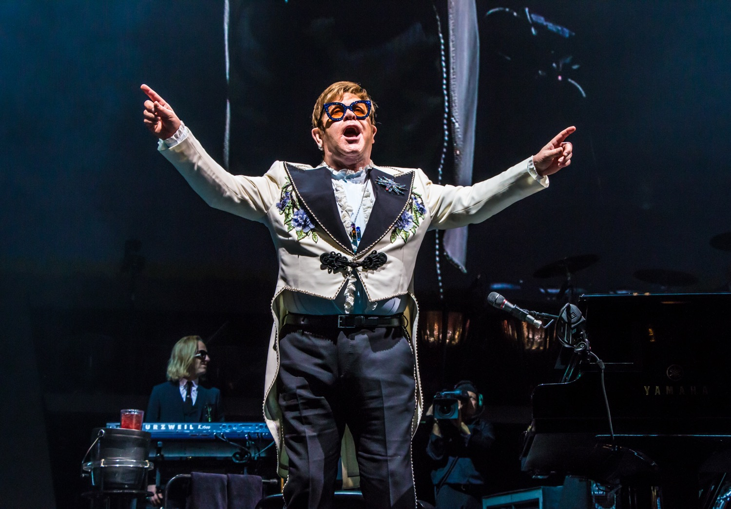 elton john 88 lior phillips Top Live Acts of 2018