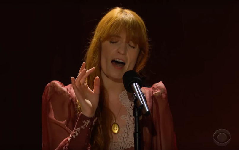 "Watch Florence and the Machine ""Patricia"" on James Corden"