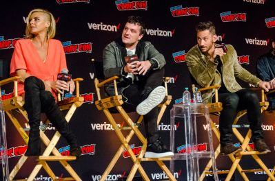 Future Man Josh Hutcherson Eliza Coupe Derek Wilson New York Comic Con 2018 Ben Kaye-126