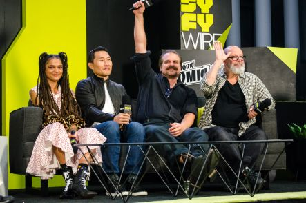 Hellboy David Harbour Daniel Dae Kim Sasha Lane Mike Mignola New York Comic Con 2018 Ben Kaye-95
