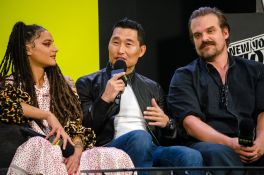 Hellboy David Harbour Daniel Dae Kim Sasha Lane New York Comic Con 2018 Ben Kaye-96