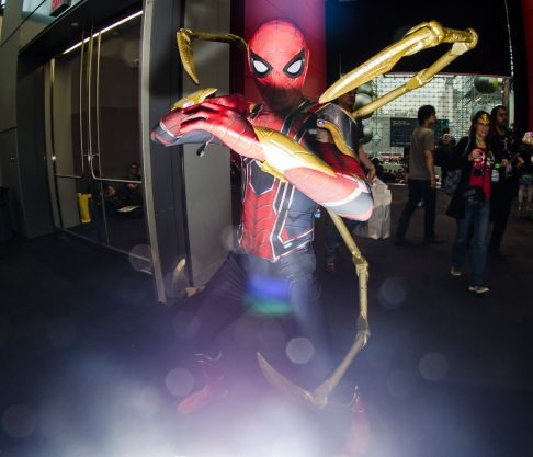 Iron Spider-Man New York Comic Con 2018 Ben Kaye-6