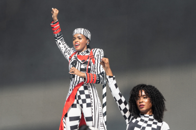 Janelle Monáe, Austin City Limits 2018, photo by Amy Price