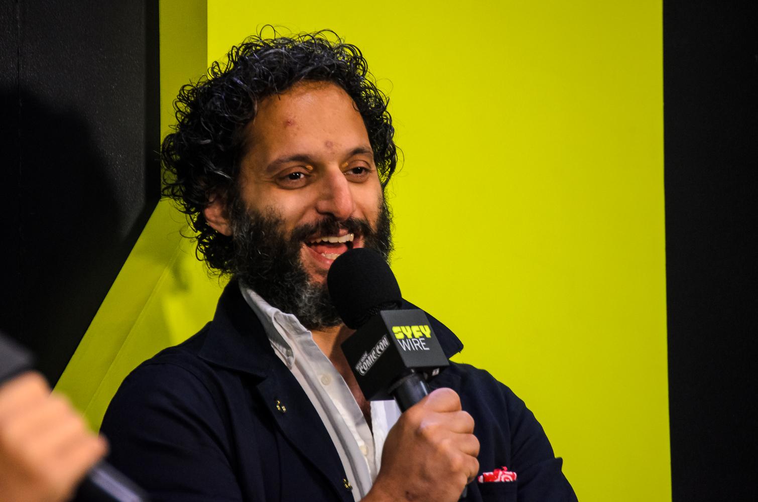 Jason Mantzoukas New York Comic Con 2018 Ben Kaye-2