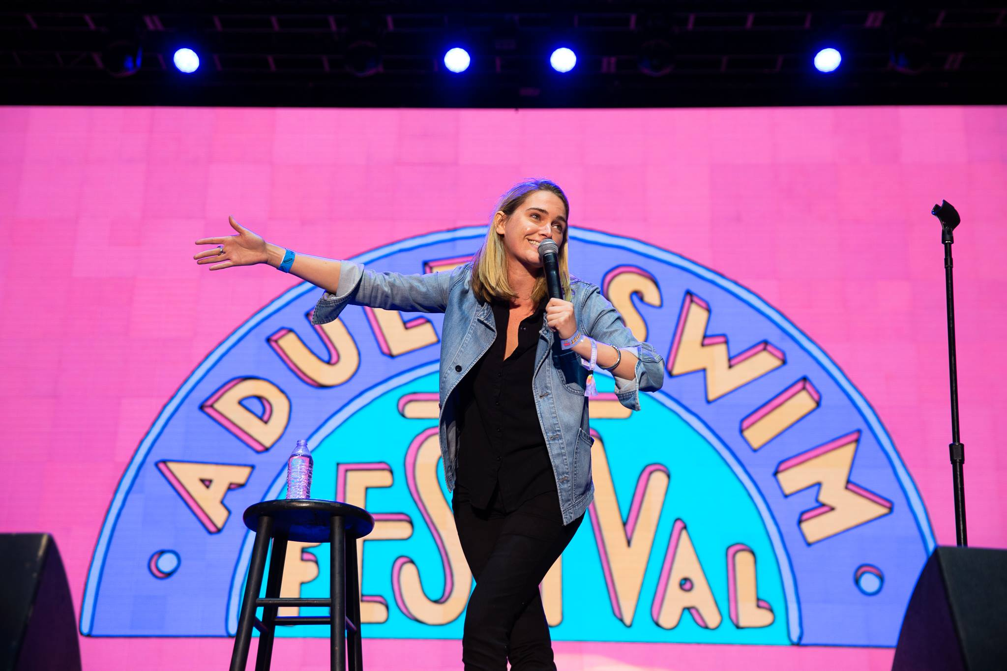 Jena Friedman, Adult Swim Festival, photo by Adult Swim