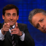 Jon Stewart and Steve Carell