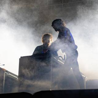 Justice, Austin City Limits 2018, photo by Amy Price