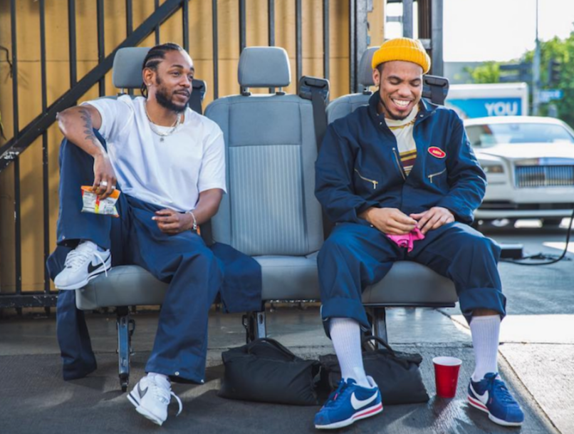 kendrick lamar and anderson .paak tints music video collaboration