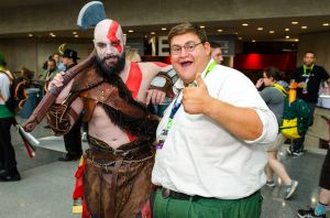 Kratos Peter Griffin New York Comic Con 2018 Ben Kaye-68