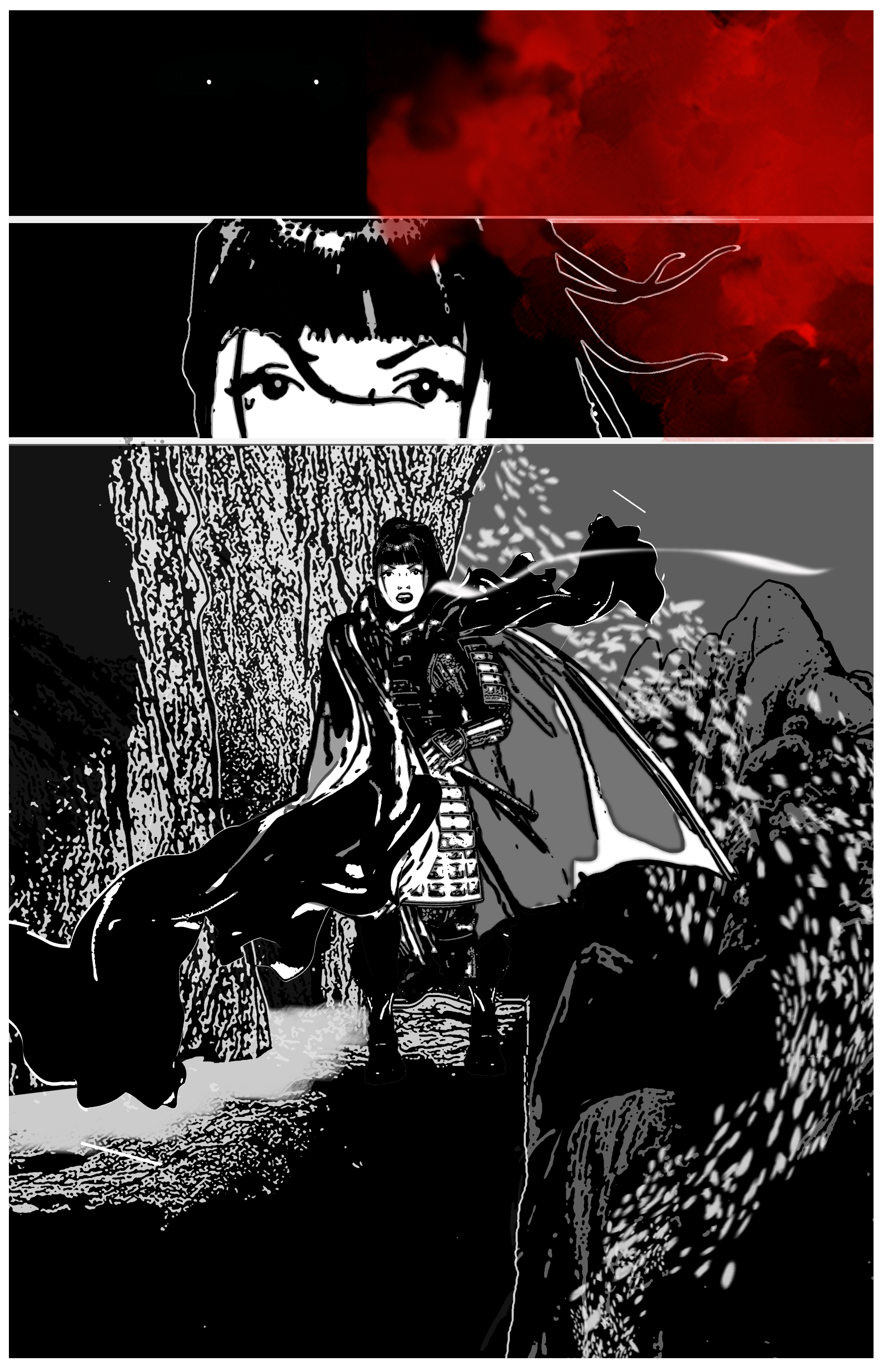 makingbm5 Inside the Art of Apocrypha: The Legend of Babymetal Graphic Novel (Exclusive)