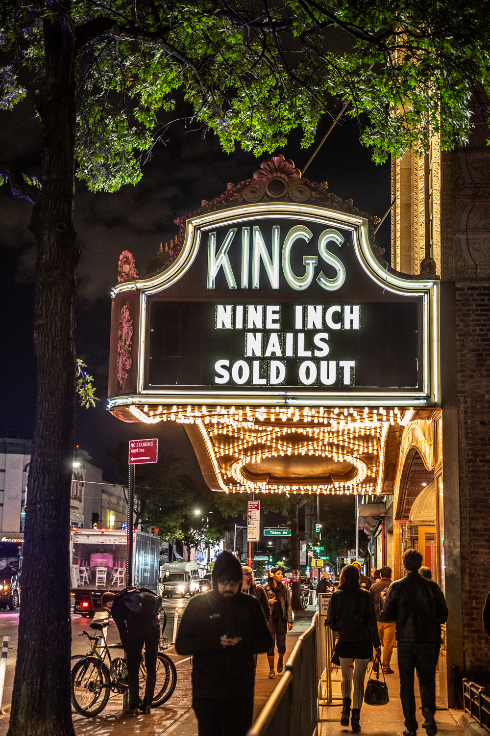 Nine Inch Nails Marquee