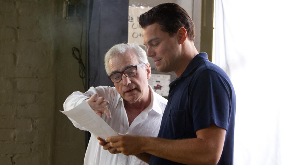 Martin Scorsese and Leonardo DiCaprio, Appian Way
