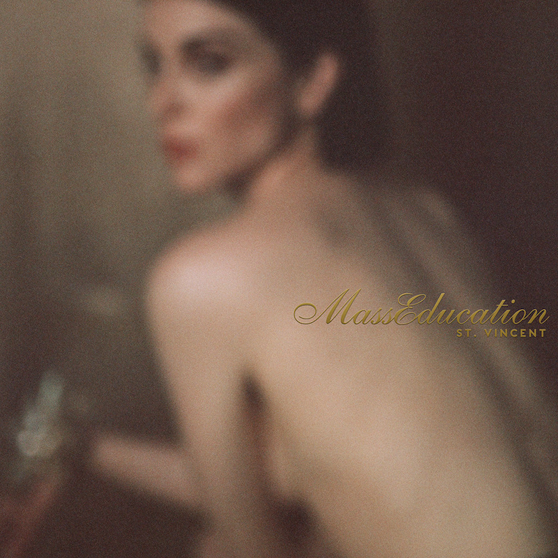 MassEducation St. Vincent Album Artwork Cover Art