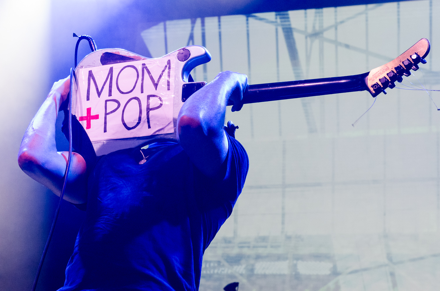 Mom+Pop 10th Anniversary Ben Kaye Tom Morello