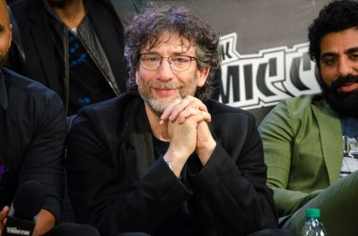 Neil Gaiman New York Comic Con 2018 Ben Kaye-76