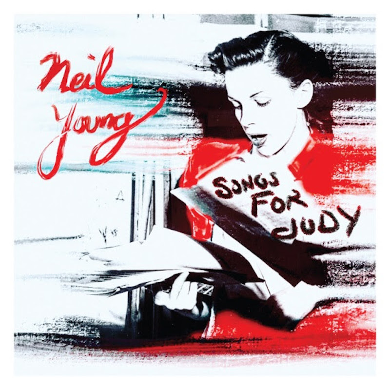 neil young songs for judy album artwork acoustic album