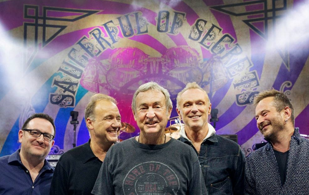 Nick Mason to perform early Pink Floyd music on 2019 U S