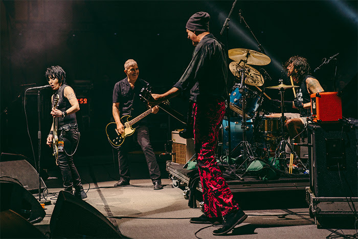 Nirvana reunion at Cal Jam, photo by Cambria Harkey